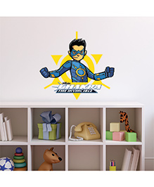 Chipakk Chakra The Invincible Wall Sticker Blue & Yellow - Medium - 1013084