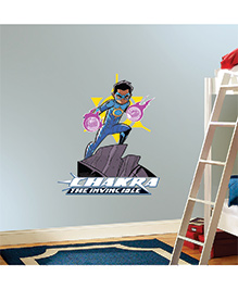 Chipakk Chakra The Invincible Wall Sticker Multicolor - Medium