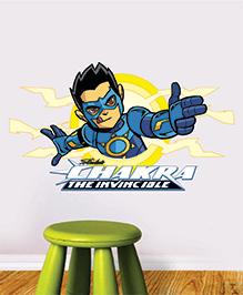 Chipakk Chakra The Invincible Wall Sticker Blue & Yellow - Medium - 1013095