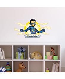 Chipakk Chakra The Invincible Wall Sticker Blue & Yellow - Medium - 1013099