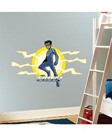 Chipakk Chakra The Invincible Wall Sticker Blue & Yellow - Medium - 1013103