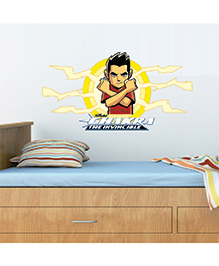 Chipakk Chakra The Invincible Wall Sticker Red & Yellow - Medium
