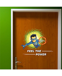 Chipakk Chakra The Invincible Feel The Power Wall Sticker Multicolor - Medium