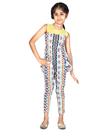 Pre Order : Chiquitita By Payal Bahl Smart Jumpsuit With Pokey Pockets - Multicolour