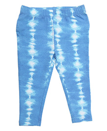 Weedots Full Length Leggings - Blue