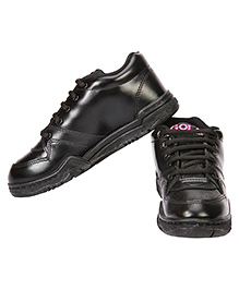Rex School Shoes - Black
