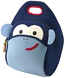 Blue Monkey Lunch Bag