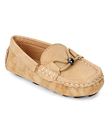 Cute Walk by Babyhug Loafers - Beige