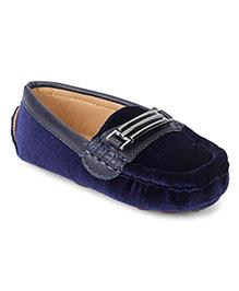 Cute Walk by Babyhug Loafers - Navy Blue