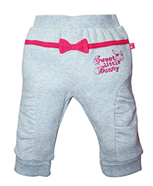 FS Mini Klub Winter Wear Bottoms Bow Applique - Grey