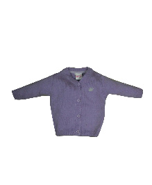 FS Mini Klub  Full Sleeves Cardigan - Purple