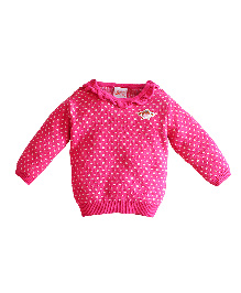 FS Mini Klub Full Sleeves Sweater - Pink