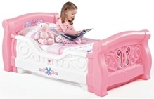 Step2 - Girl's Toddler Sleigh Bed