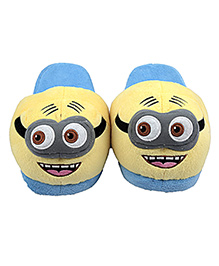 The Crazy Me Cartoon Slippers - Yellow