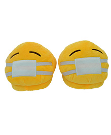 The Crazy Me Fun Poo Slippers - Yellow