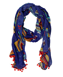 The Crazy Me Kites Scarf - Muticolour