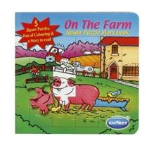 Navneet -  On The Farm Jigsaw Puzzle  Book