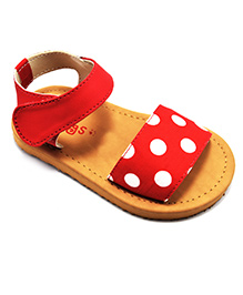 Pugs Lilly Fashionista Polka Dots - Red & White