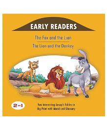 The Fox And The Lion And The Lion And The Donkey - English