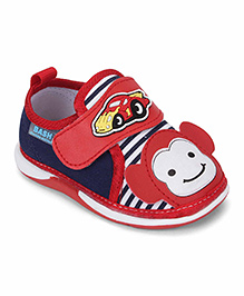 Bash Casual Shoes Monkey Patch - Red Blue