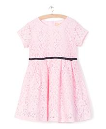Whitehenz ClothingPleated Evening Dress - Pink
