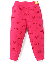 Play By Little Kangaroos Full Length Bottoms Arrow Print - Pink