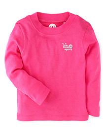 Vitamins Full Sleeves T-Shirt - Pink