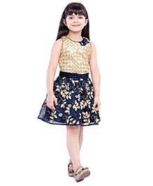 Tiny Baby Trendy Party Dress - Blue