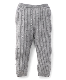 Pumpkin Patch Thermal Bottoms - Grey