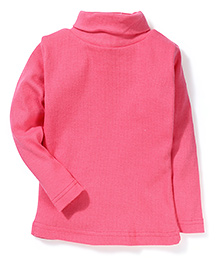 Gini & Jony Full Sleeves Solid Colour Top - Pink