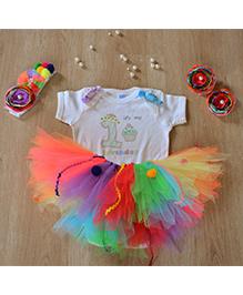 TU Ti TU Yummy Candyland First Birthday Outfit - Multicolour