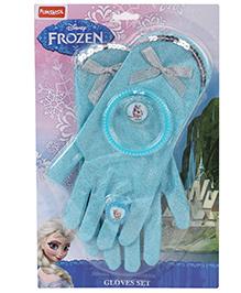 Funskool Disney Frozen Gloves And Bracelet Set Blue - 20.5 cm