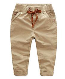 Pre Order : Mauve Collection Pants For Boys - Beige