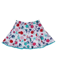 9 Yrs Younger Multi Print Skirt - Multi Color