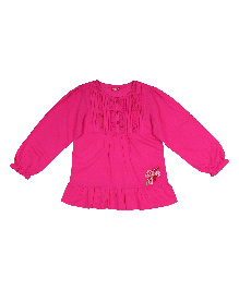 9 Yrs Younger Full Sleeves Top - Pink