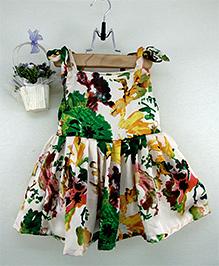 Tiny Toddler Floral Print Dress - Multicolour