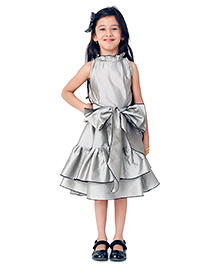 Kidology Fairytale Trapeze Dress - Grey