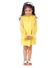 Kidology Audley Dress - Yellow