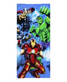 Spaces Marvel Avengers Bath Towel - Navy Blue