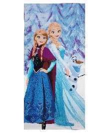 Spaces Disney Frozen Bath Towel - Purple