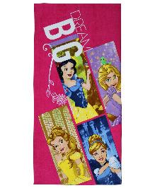Spaces Disney Princess Bath Towel - Pink