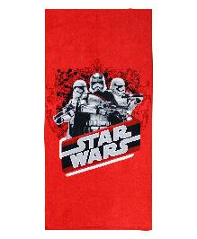 Spaces Star Wars Bath Towel - Red