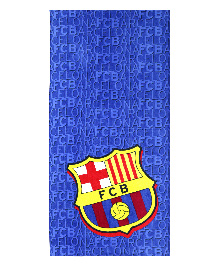 Spaces Bath Towel FCB Design - Navy Blue