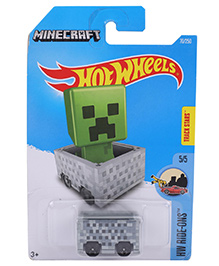 Hot Wheels Ride Ons Minecraft (Color & Design May Vary)
