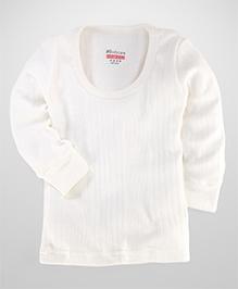 Bodycare Full Sleeves Thermal Vest - White