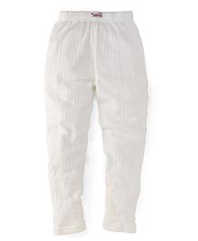 Bodycare Thermal Leggings - White