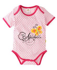 Tiny Bee Infant Girls Onesie - Pink