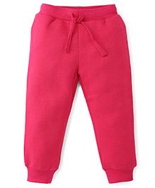 Fox Baby Full Length Track Pants - Fuchsia