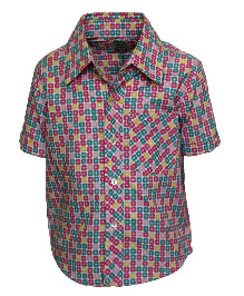 A Little Fable Half Sleeves Shirt Floral Print - Multi Color