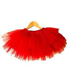 Frills N Frocks Tutu Skirt - Red